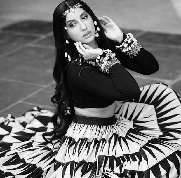 Nora Fatehi is bewitching in abstract ensemble from her song 'Chhor Denge' : Bollywood News Moviesflix