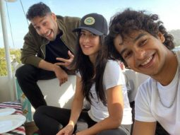 PhoneBhoot trio Katrina Kaif, Ishaan Khatter and Siddhant Chaturvedi enjoy lakeside view in Udaipur!