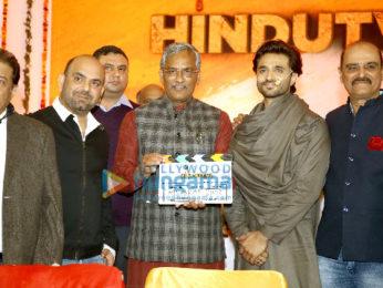 Photos: CM Trivendra Singh Rawat at Mahurat clap of Karan Razdan's Hindutva