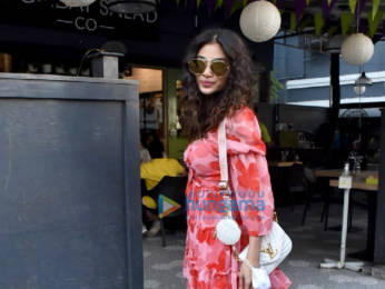 Photos: Mouni Roy spotted at Bombay Salad Co. in Bandra