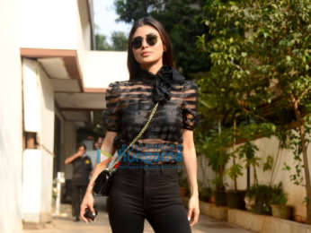 Photos: Mouni Roy spotted at Milan Luthria's office