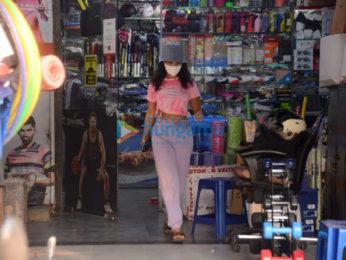 Photos: Patralekha snapped shopping in Andheri