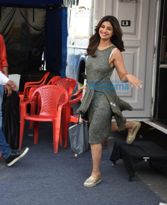 Photos Shilpa Shetty spotted at Film City (1)