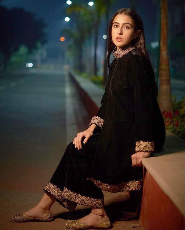 Sara Ali Khan exudes elegance in black velvet set