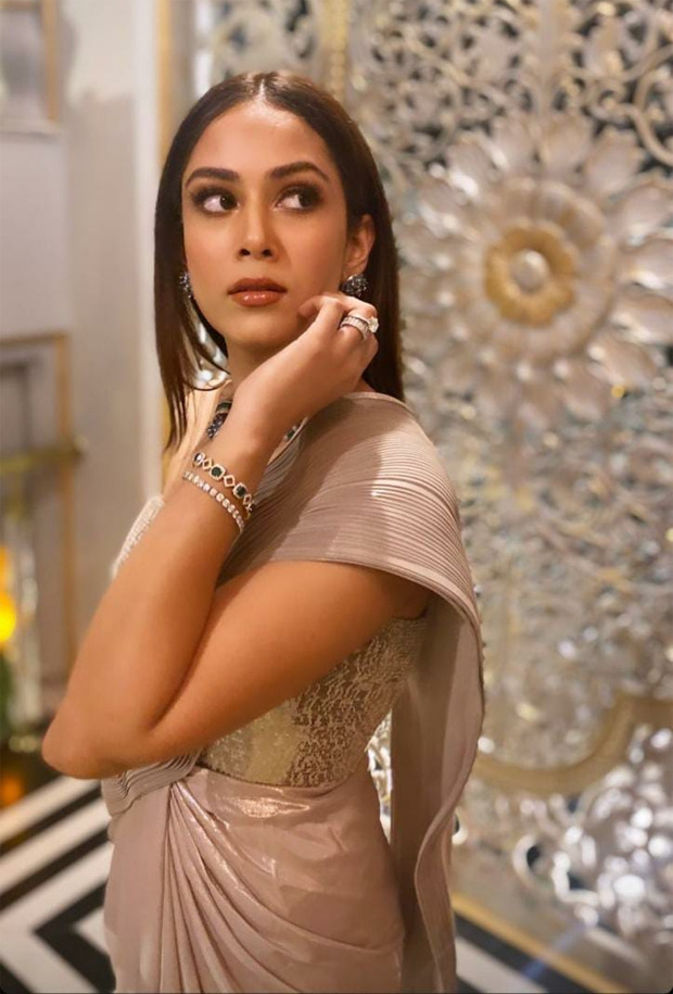 Shahid Kapoor's wife Mira Rajput stuns in Amit Agarwal metallic saree worth Rs. 78,500 at her best friend's wedding