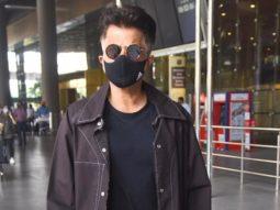 Spotted - Anil Kapoor and Karishma Tanna at Airport
