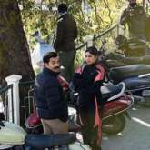 Rajkummar Rao plays a cop and Bhumi Pednekar stars as a PT teacher in the behind-the-scenes of Badhaai Do