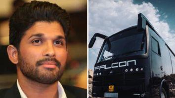 Allu Arjun's vanity van Falcon meets with an accident