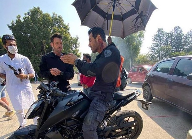 John Abraham shares a still from Attack doing what he does best - Bollywood Hungama