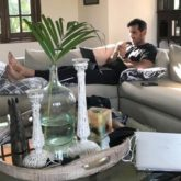 John Abraham gives a glimpse at what his Monday morning looks like