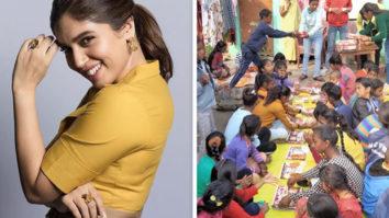 Bhumi Pednekar brings Valentine's Day cheer among underprivileged kids in Rishikesh