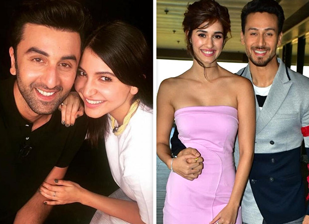 Valentine's Day Special: Ranbir Kapoor compliments Anushka Sharma's kissing; Tiger Shroff on his chemistry with Disha Patani - Bollywood Hungama
