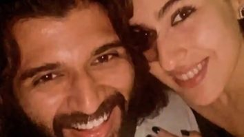 Sara Ali Khan has her fan moment with Vijay Deverakonda