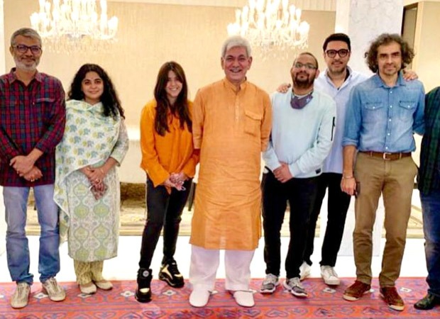 Ekta Kapoor, Dinesh Vijan, Imtiaz Ali, Nitesh Tiwari and others meet Governor of Jammu & Kashmir to discuss reviving film shoots in the state