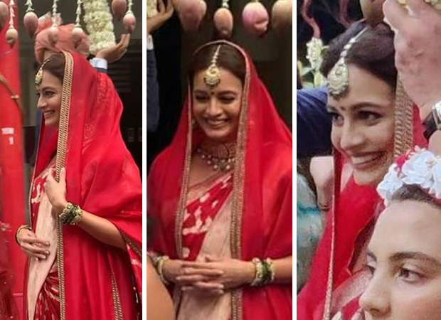 Dia Mirza makes for a gorgeous bride in first pics from her wedding to Vaibhav Rekhi
