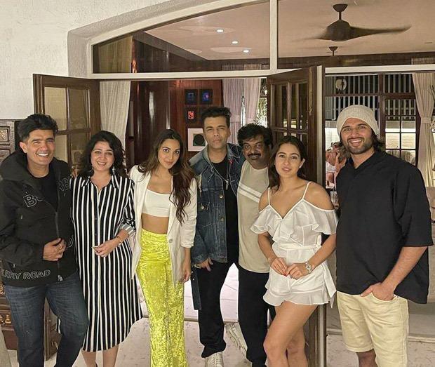Karan Johar shares glimpse with Sara Ali Khan, Parineeti Chopra, Rakul Preet Singh, Kiara Advani from Manish Malhotra''s party, says 'Pawri Ho Rahi Hai'