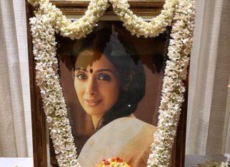 Janhvi Kapoor, Boney Kapoor, Khushi Kapoor perform a puja in Chennai ahead of Sridevi's death anniversary