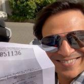 Vivek Oberoi joins the Pawri Ho Rahi Hai trend; dedicates it to the Mumbai Police