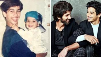 Ishaan Khatter gets filmy as he shares a then and now picture on Shahid Kapoor's birthday