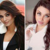 Netizens find a doppelganger of Aishwarya Rai Bachchan in Pakistan's beauty blogger Aamna Imran