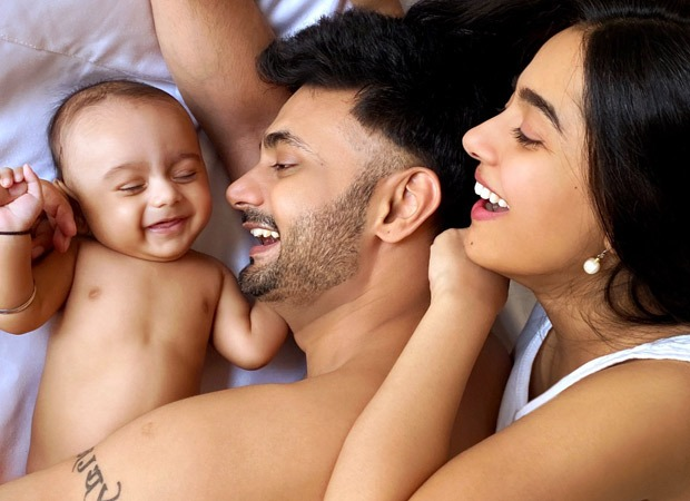 Amrita Rao and RJ Anmol introduce their son Veer to the world with the cutest picture