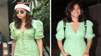 FASHION FACE-OFF Alia Bhatt or Mrunal Thakur - who wore green midi dress better