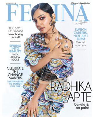 Radhika Apte On The Covers Of Femina