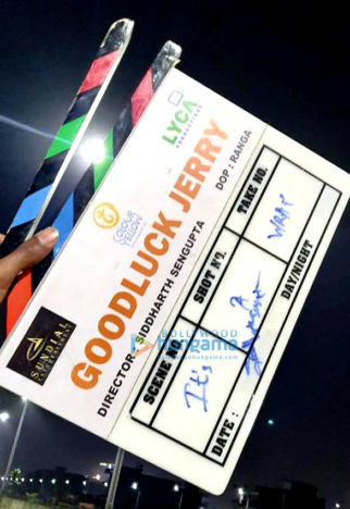 On The Sets Of The Movie Goodluck Jerry