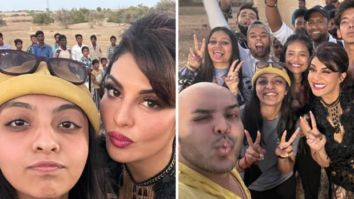 Jacqueline Fernandez shares glimpses from the last day of shoot of Bachchan Pandey