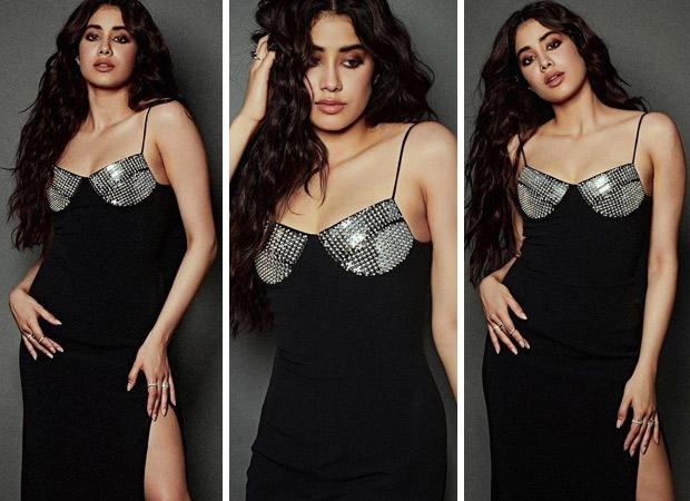 Janhvi Kapoor effortlessly makes statement in thigh high slit embellished dress worth Rs. 1.6 lakhs