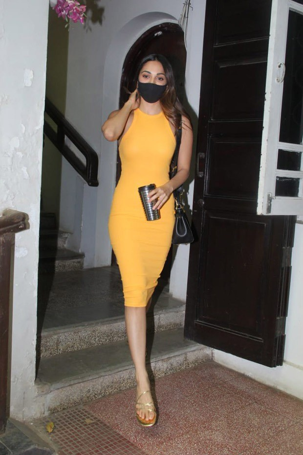 Kiara Advani's yellow bodycon dress is perfect for summer brunch outing