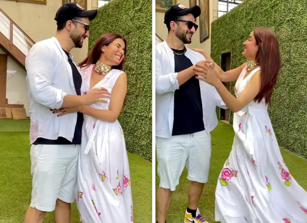 Lovebirds Jasmin Bhasin and Aly Goni celebrate Holi with their song 'Tera Suit'