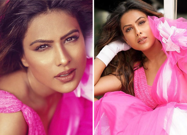 Nia Sharma is ready to be the belle of the party in pink tulle dress