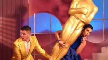 Nick Jonas and Priyanka Chopra Jonas add their charm to the Oscar Nominations' virtual event