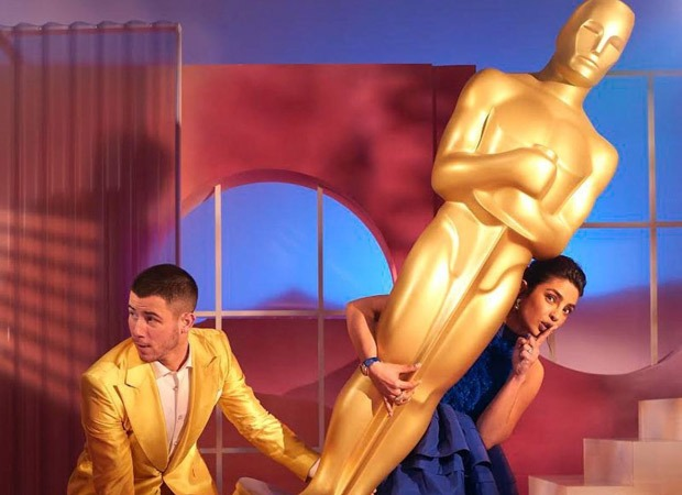 Nick Jonas and Priyanka Chopra Jonas add their charm to the Oscar Nominations' virtual event