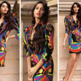 Nora Fatehi's stunning multicoloured Versace dress is worth Rs. 2.3 lakhs