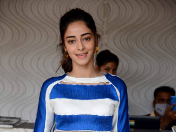 Photos: Ananya Panday snapped for Arbaaz Khan's chat show in Juhu