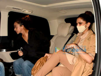 Photos: Deepika Padukone spotted at Tori in Bandra with her sister