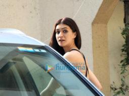 Photos: Kriti Sanon snapped at a salon in Juhu