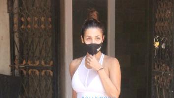 Photos: Malaika Arora spotted at pilates studio in Santacruz