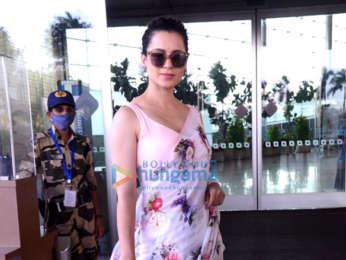 Photos: Rajkummar Rao, Patralekha, Sunny Deol, Kangana Ranaut and others snapped at the airport
