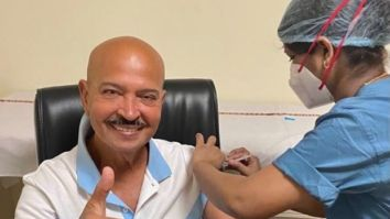 Rakesh Roshan gets vaccinated with the first dose of Covishield, posts a picture