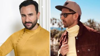 SCOOP: Saif Ali Khan charges Rs. 12 crores to play the cop alongside gangster Hrithik Roshan in Vikram Vedha