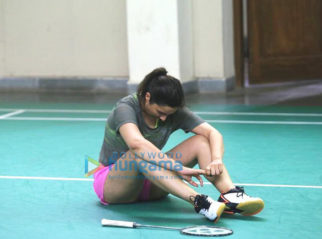 On The Sets Of The Movie Saina