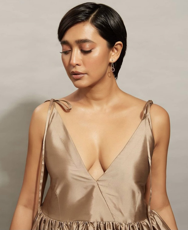 Sayani Gupta's poofy glitzy dress for Pagglait promotions is the go-to silhouette this summer