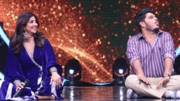 Shilpa Shetty takes a special Yoga session of the Indian Idol 12 contestants