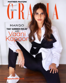 Vaani Kapoor On The Cover Of Grazia