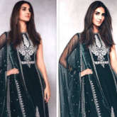 Vaani Kapoor looks elegant in olive green Anita Dongre creation worth Rs. 1.5 lakhs