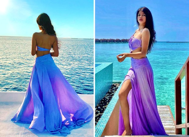 Varun Dhawan's niece Anjini Dhawan is summer mood in thigh-slit skirt and crop top