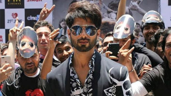 Shahid Kapoor thanks his fans for the 'rare love' showered on him by them with a throwback picture